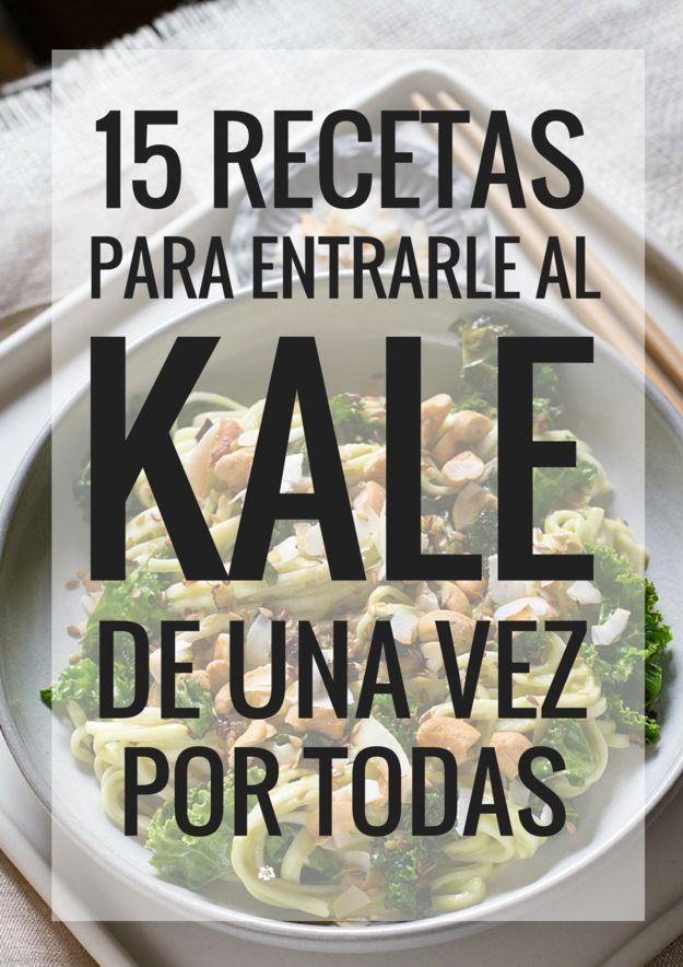 15 Recetas que te harán fan del kale a la hora de la comida