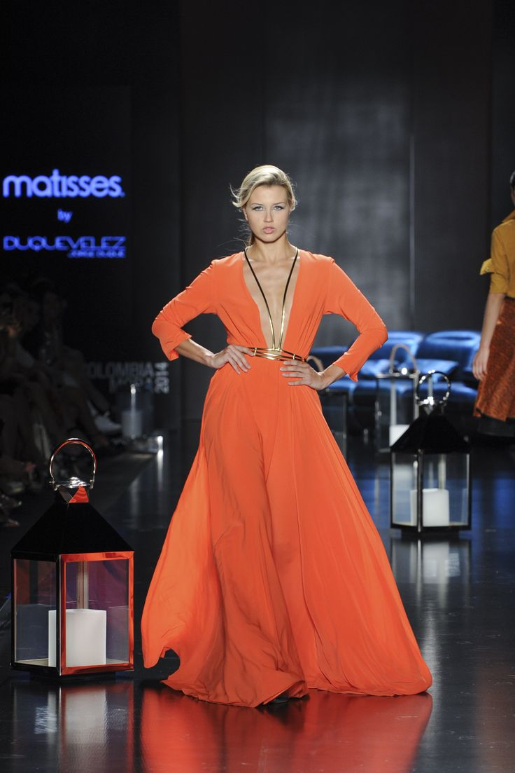 Pasarela Matisses By Jorge Duque en #Colombiamoda2014