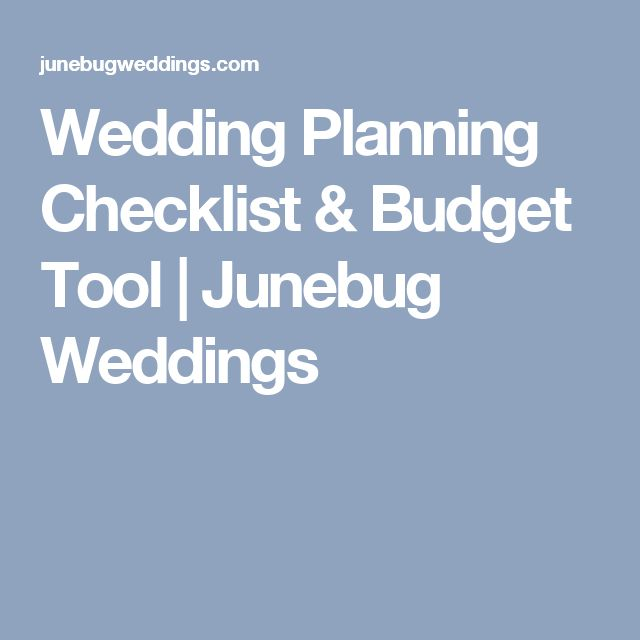 25+ ide terbaik Wedding planning checklist di Pinterest - sample wedding planning checklist
