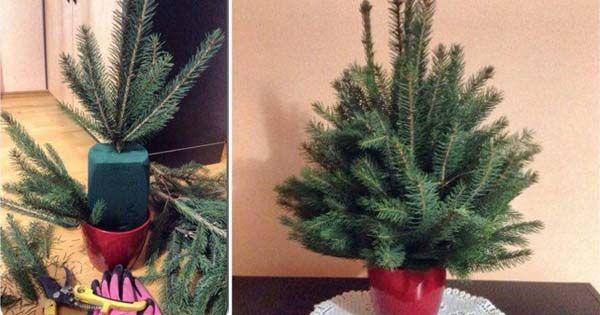 Jednoduchý a rýchly nápad s návodom od Paula Decor na dekoračný stromček z vetvičiek, ktorý hádam zvládne každý. Handmade, Vianoce, DIY, dekorácia