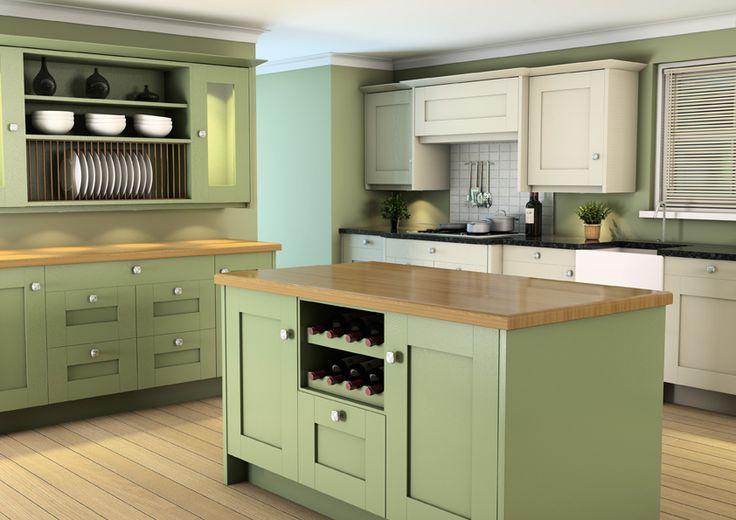 Sage Painted Kitchen, Fitted Kitchen, New Kitchen, Kitchens Derby, Kitchens  Shropshire, Part 45