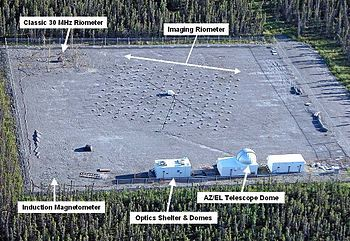 English: Overview of the HAARP Diagnostic Sens...