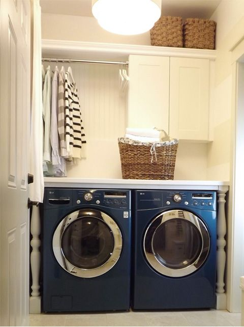 Cool idea for laundry room