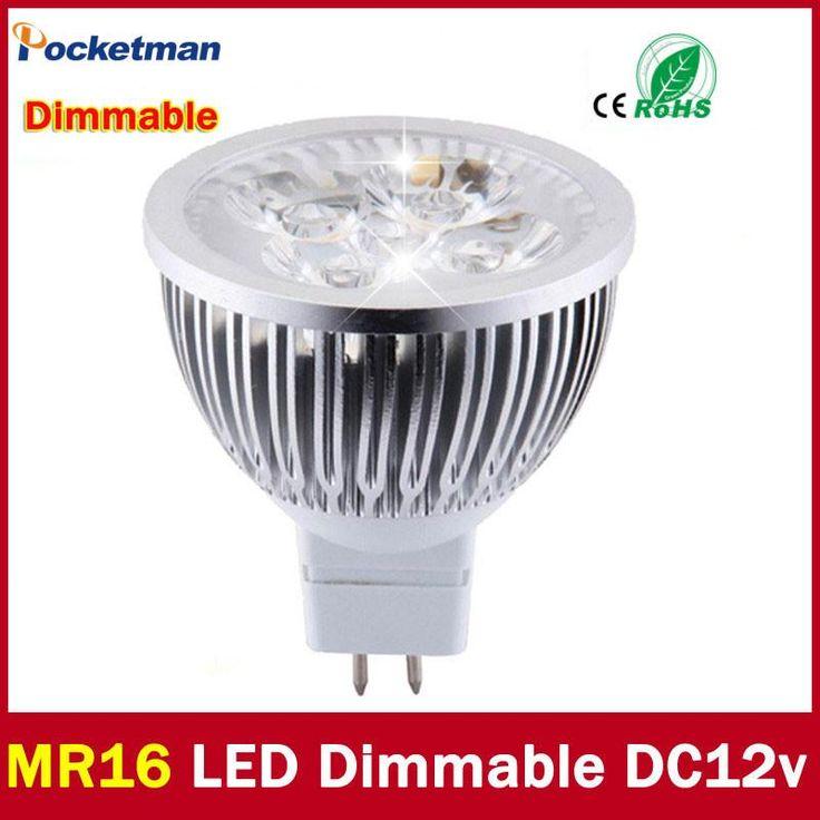 High lumen CREE MR16 - GU5.3 LED spot light lamp 12V 220V 110V 3W 4W 5W LED Spotlight Bulb Lamp GU 5.3 led bulb light