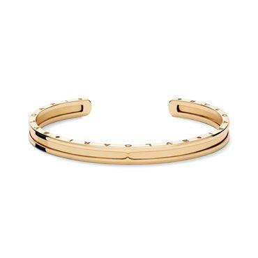 Bzero-cuff bracelet in pink gold http://www.liljenquistbeckstead.com/Jewelry/bulgari