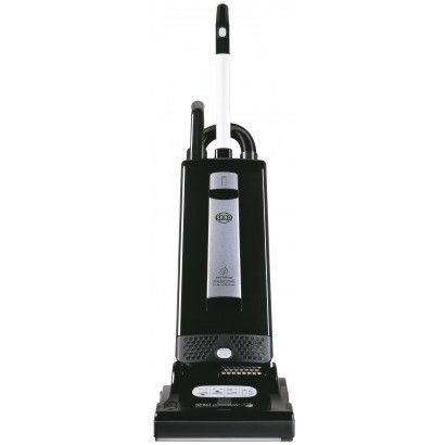 SEBO Automatic X4 9501AM Onyx Upright Vacuum: The SEBO Automatic X4 is an upright vacuum cleaner from SEBO. It comes in an elegant Onyx body that can not only clean but also compliment contemporary style homes and offices. As a professional-grade vacuum cleaner, it can be used for cleaning both homes and offices. Its performance and durability makes it a wise investment for business users, but it is so easy to use that even homeowners will definitely find it a practical buy.