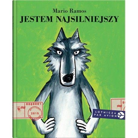 """Witajcie w Poniedziałek:)    Po lesie chodzi wilk macho, pewny siebie, gdy chce poprawić sobie humor zadaje wszystkim to samo pytanie: """"Kto jest najsilniejszy?    Nikt nie ma odwagi odpowiedzieć inaczej niż: """"Ty, wilku, ty jesteś najsilniejszy"""". Do czasu…    Jak będzie brzmiała Twoja odpowiedź:)     Książka od lat 2 - Wydawnictwo dwie siostry.    http://www.niczchin.pl/ksiazeczki-dla-przedszkolakow/3687-ksiazka-jestem-najsilniejszy-wydawnictwo-dwie-siostry.html"""