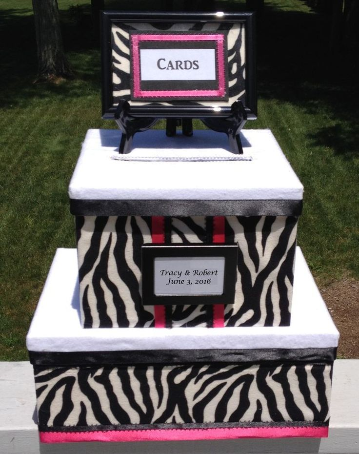 Zebra Party DecorationSweet 16 CardQuinceanerablackwhitepinkholds 60 Cards