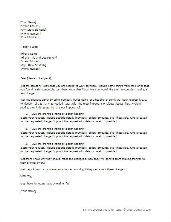 10 best Decline Letters images on Pinterest Cover letter sample - job offer