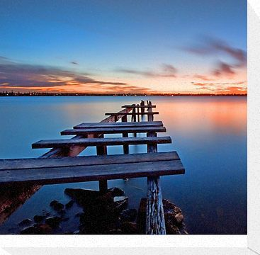 """""""The Gloaming -Cleveland Point Qld"""" Photographic Prints by Beth Wode   Redbubble"""