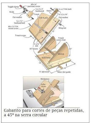 Ah! E se falando em madeira...: dicas de marcenaria
