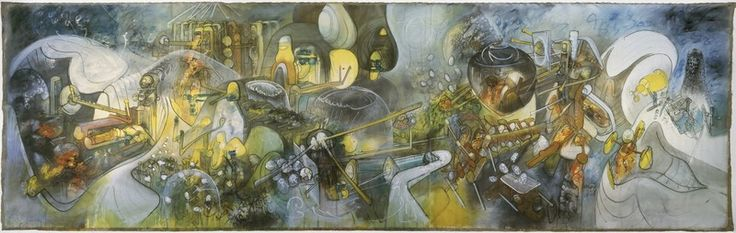 Roberto Matta - Les puissances du désordre (Grimau, les puisssances du désordre, L'heure de la verite, L'heure de la vérité) 1964 - 1965