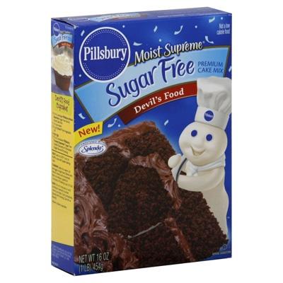 Pillsbury Moist Supreme Devils Food Cake Mix - Sugar Free - 1 Box (16 oz)Deviled Food, Cake Mixed, Cake Mixes, Moist Supreme, Pillsbury Moist, Supreme Deviled, Boxes 16, Sugar Free, Food Cakes