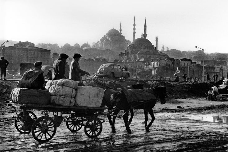 Magnum Photos -TURKEY. 1959. Eminönü after the 1959 demolition work.
