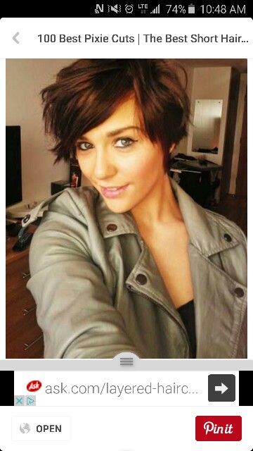 what is the best haircut for thin fine hair 67 best low maintenance haircuts images on 6319 | a88efe3f6319abe38df9fe81237c3061 pixie bob hairstyles pixie bob haircut