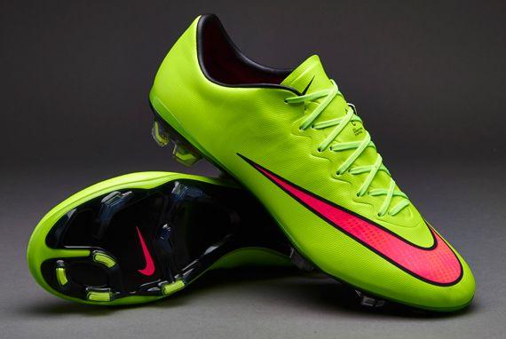 Nike Mercurial Vapor X FG - Green/Volt/Hyper Punch/Black - Nike | Peter Spencer