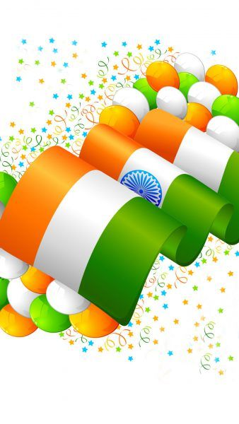 Free download of India Flag for Mobile Phone Wallpaper 13 of 17 - Tiranga Decoration