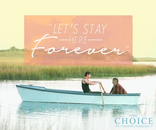 The Choice- new Nicholas Sparks movie coming out! #TheChoiceMovie #ad