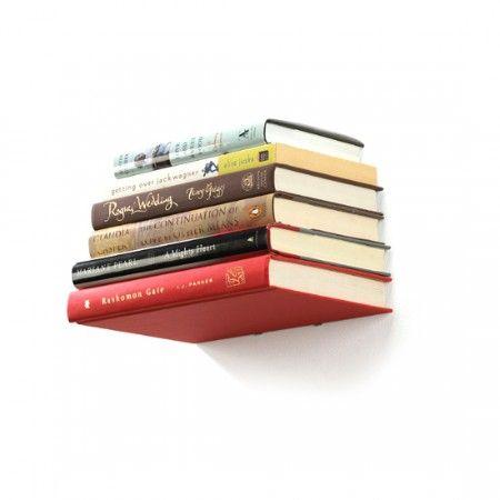 zwevende boeken (de onzichtbare boekenplank)