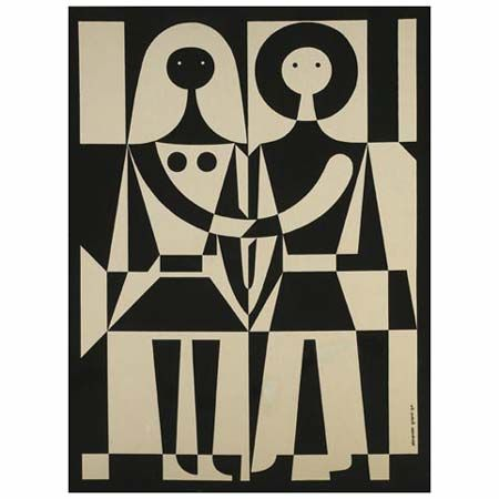 Love this couple by Alexander Girard