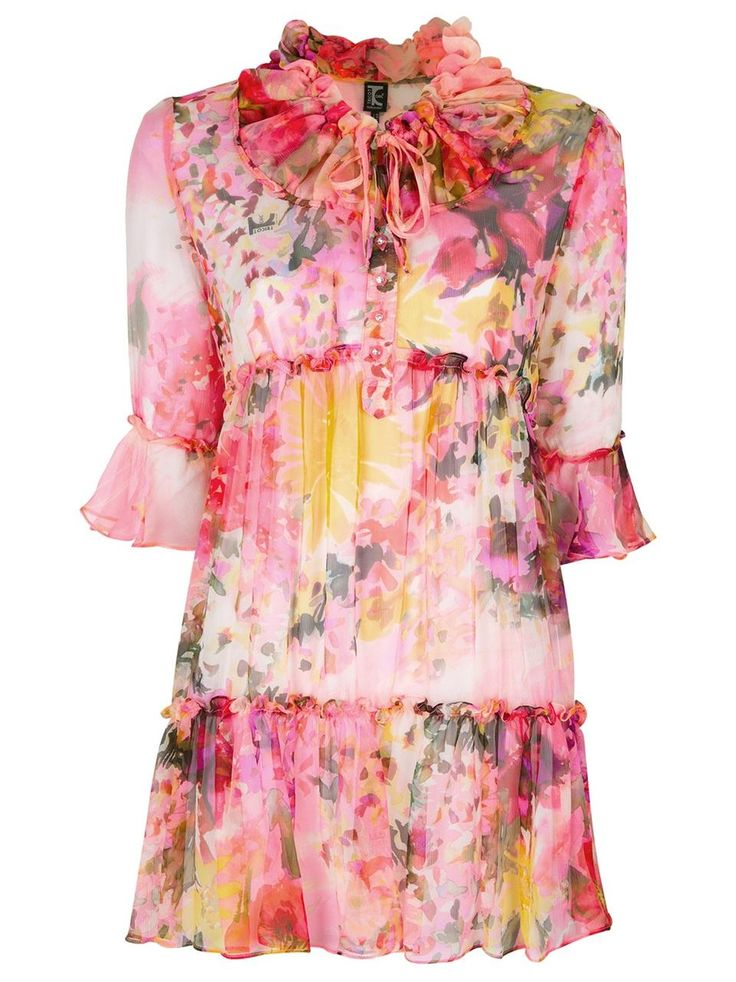 ❦  Tricot Chic floral print dress