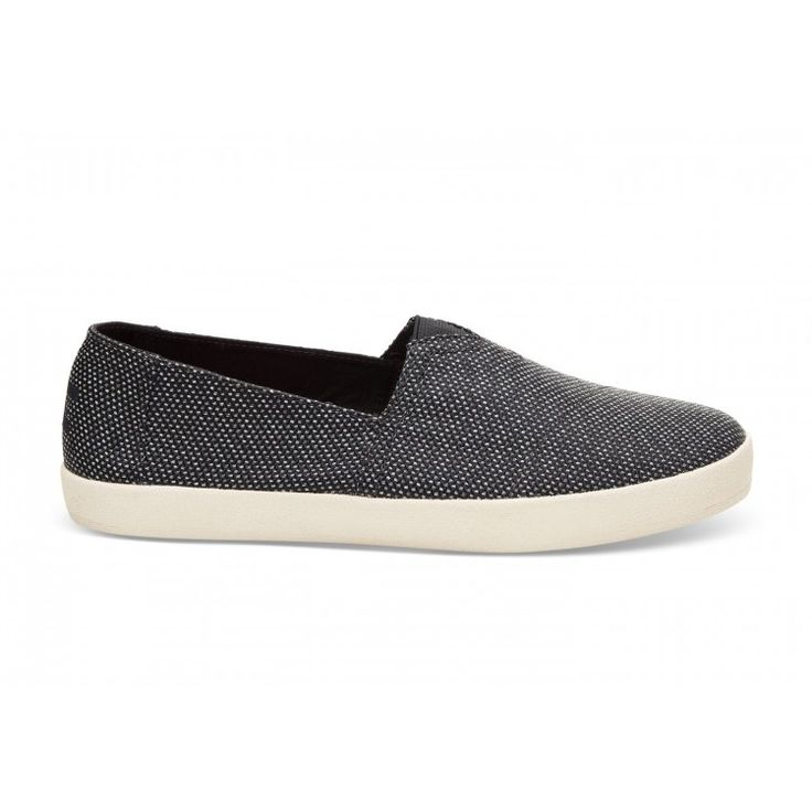 john-andy.com | Toms Παπούτσια Ανδρικά Black Grey Yarn Dye Avalon Sneakers 10009978