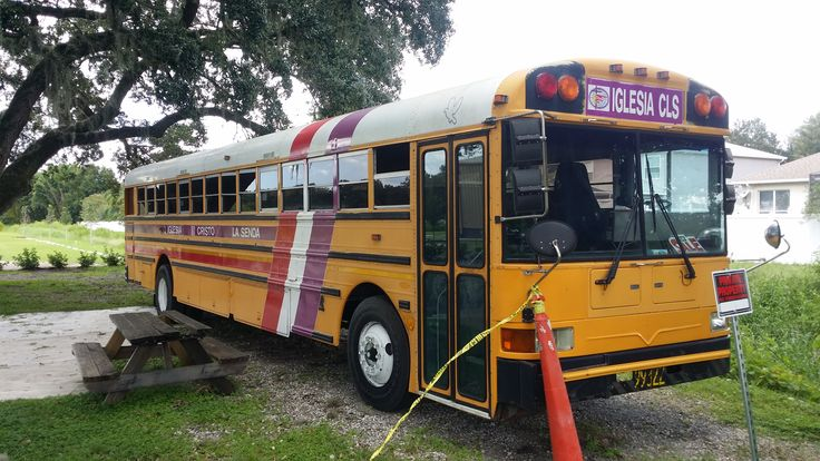 """Bought this excellent running bus about a year ago with the best intentions of completing a really cool """"Skoolie"""", and plans progressed well for a while. We have painted the exterior to include truck bed liner on the lower section, removed seats, replaced floor with vinyl laminate (waterproof!), framed a bedroom out for privacy and…"""