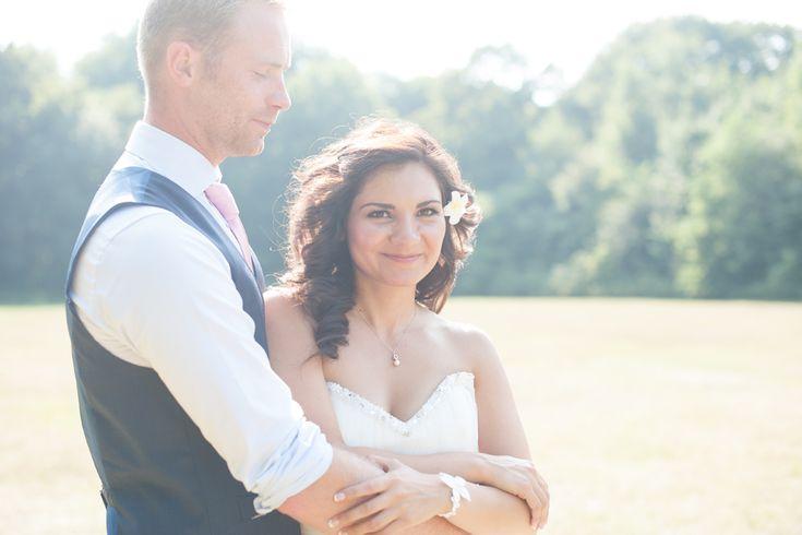 Zonnige bruidsreportage in Heiloo #fotoshoot #bruiloft