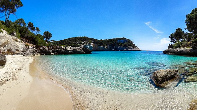 Heaven on Earth. Menorca, Cala Mitjaneta, Spain