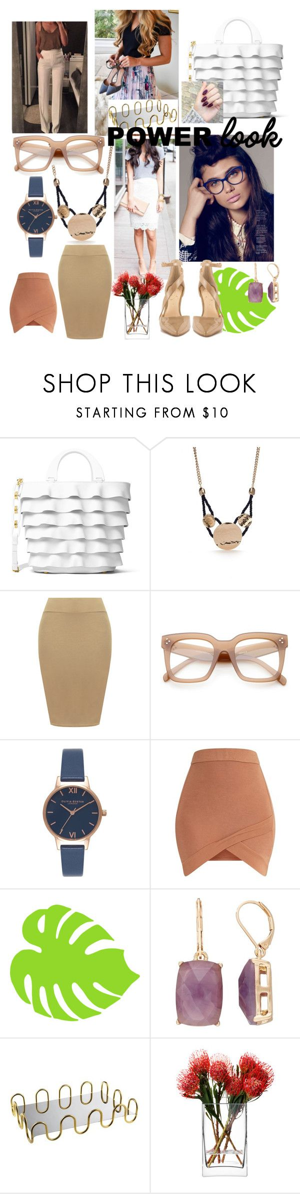 """BossBabe"" by itsshayplay ❤ liked on Polyvore featuring Michael Kors, New Directions, WearAll, ZeroUV, Olivia Burton, Dana Buchman, Sambonet, LSA International and Jessica Simpson"