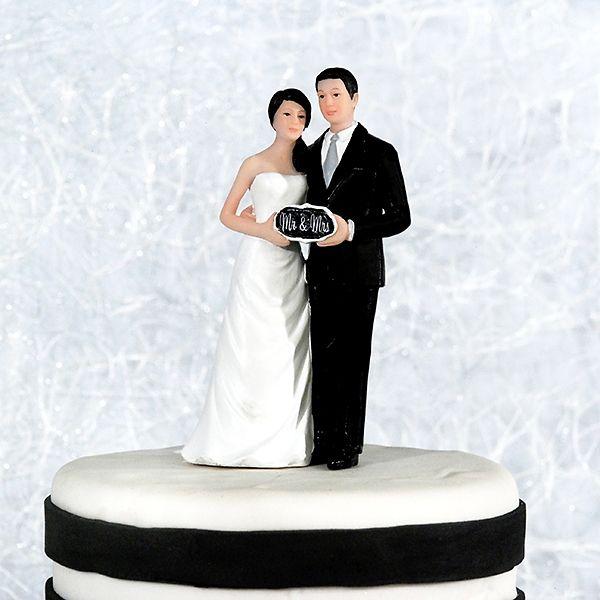 """Tortenfigur """"Mr & Mrs"""" - für die Hochzeitstorte weddix"""