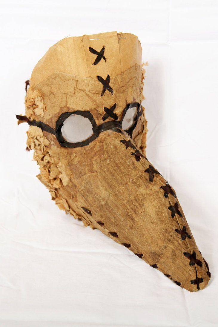 80 best Cardboard Masks images on Pinterest | Cardboard mask ...