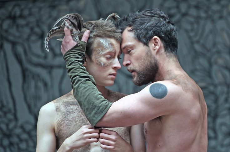 The Globe on Screen: A Midsummer Night's Dream, by William Shakespeare. A Shakespeare's Globe directed by Dominic Dromgoole. Captured is Matthew Tennyson as Puck, John Light as Oberon.