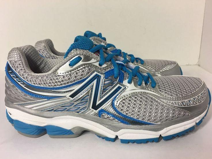 New Balance Women's W1340 Optimal Control Silver Blue Running Shoe Sz 9 US | eBay