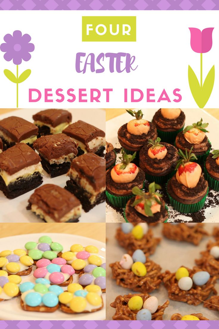 Need some dessert ideas for Easter this year? Check out these 4 adorable recipes at Cake Journal.