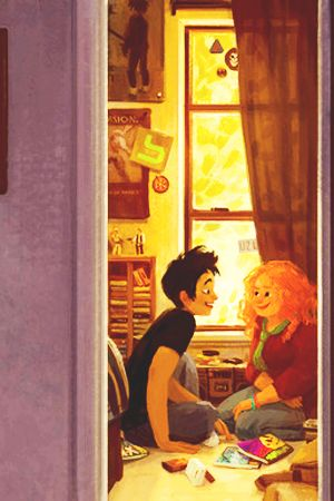 I love this fan art of Eleanor & Park