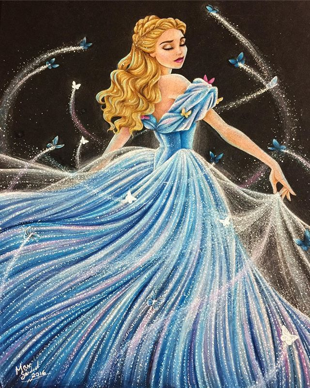 You guys don't even know how much fun I had working on this. I love this movie soooo much and I hope I did Ella's transformation scene justice ❤️ This REEAALLLYYY makes want to do my animated Cinderella transformation scene over again as well