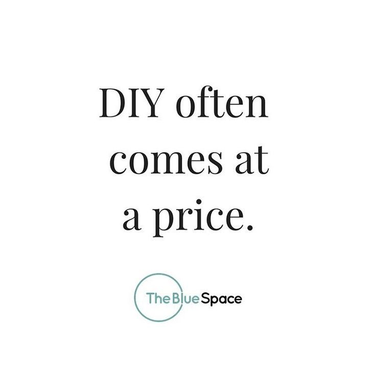 Sometimes it's better to leave it to the professionals.   DIY might seem like the most cost-effective option for you (at the time), but if something goes wrong you don't have that added security and knowledge which comes from a professional trained in this particular field.   For more tips, click the link in bio for our feature on @insideoutmag!