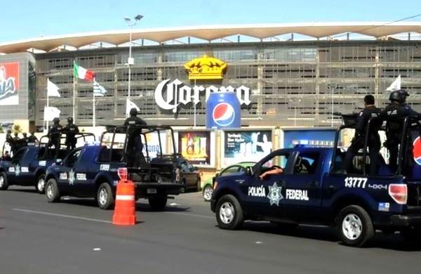 Fuerte operativo de seguridad para el partido Santos Laguna vs America http://yodeportivo.com/2013/02/fuerte-operativo-para-el-santos-vs-america/