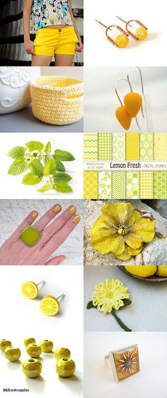 Lemonade ! by Elena on Etsy--Pinned with TreasuryPin.com