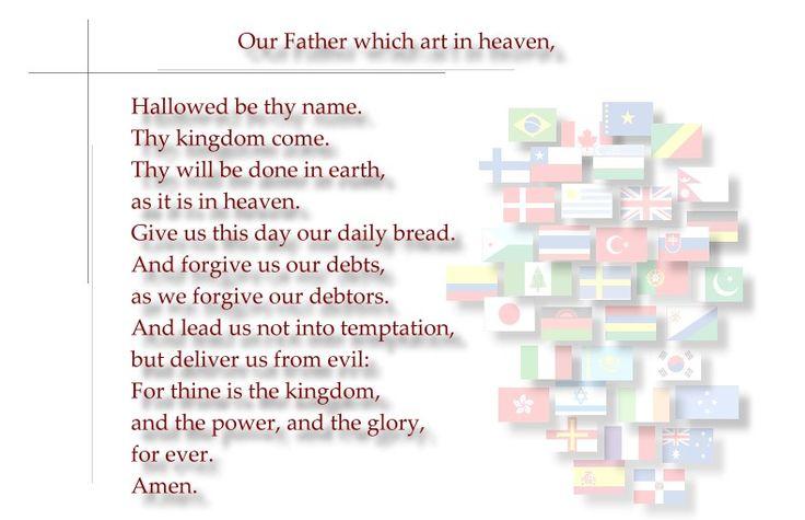 Our Father (Pai Nosso em inglês):