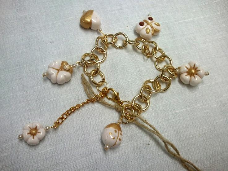 La Girandola Creativa: braccialetti stile Thun in fimo
