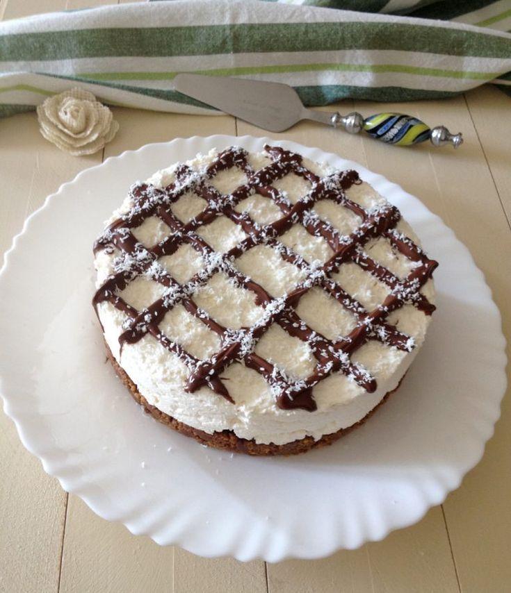 Torta cheesecake al cocco e nutella – #al #cheesecake #cocco #nutella #Torta