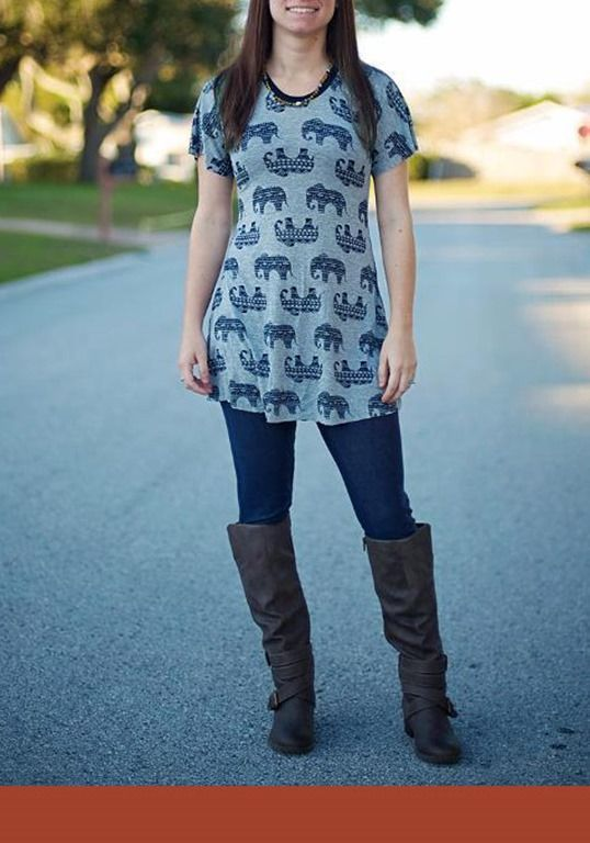 Easy Sewing Pattern for Plus-Size Women Top http://www.finecraftguild.com/easy-sewing-pattern-for-plus-size-women-top/  currently $9 http://www.craftsy.com/pattern/sewing/clothing/flora-top-ladies-easy-shirt/132319?SSAID=217990  Instructions are included for many options including: Flat Back or Button Up Back, Shirt Length, Tunic Length, or Maternity Length and Short Sleeve or Long Sleeve. You can also choose to use snaps instead of buttons for the Button-Back view.