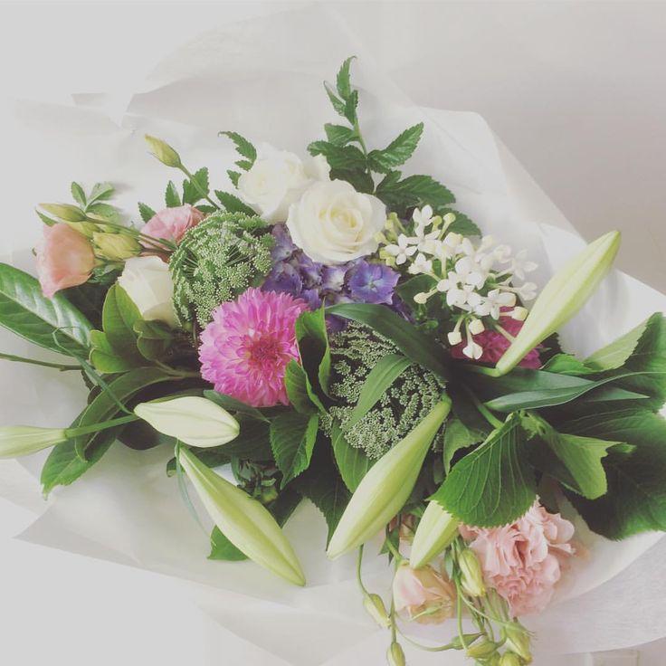 Summer Bouquet |  @RosaAllen | New Year | 2017 | Dunedin, NZ.