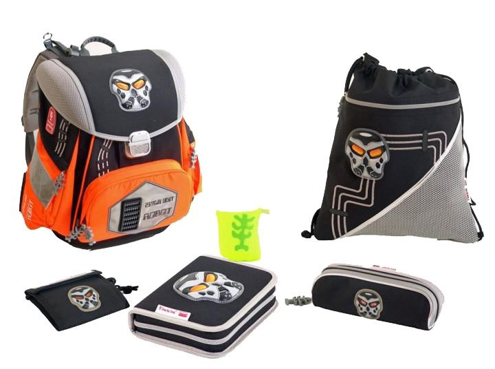 Step by Step Schulrucksack Set Limited Edition Robot 6tlg.