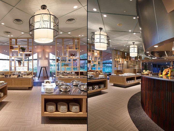 Serina buffet restaurant by Fan Design Label, Narita   Japan hotels and restaurants