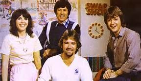 swap shop tv show - how they used to look. Maggie Philbin, John Craven, Keith Chegwin and Noel Edmonds