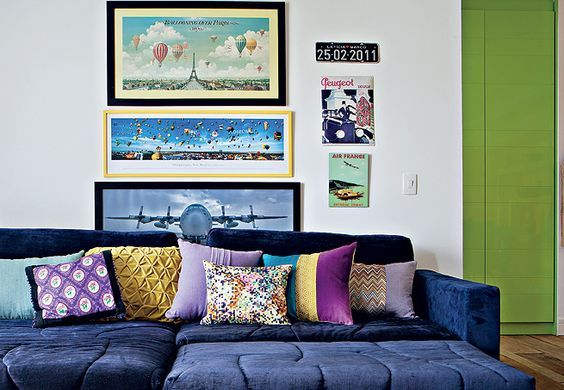 Decor: Almofadas na decoração do sofá! - Você precisa decorVocê precisa decor