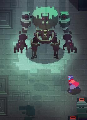 Hyper Light Drifter: An indie game by Heart Machine.